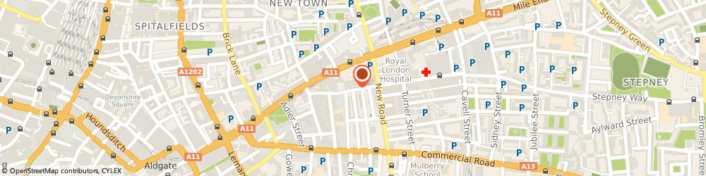 Route/map/directions to Aboss Recovery, E3 3ND London, Tower House Towcester Rd