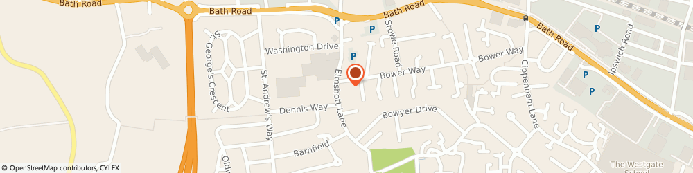 Route/map/directions to Thames Valley Garage, SL1 5HX Slough, 2A Bower Way