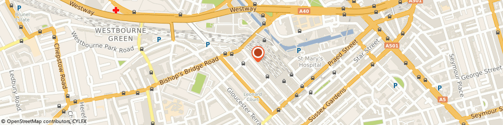 Route/map/directions to My Garment Factory, W2 6LG London, 19 Eastbourne Terrace