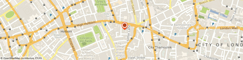 Route/map/directions to Furnival Chambers, EC4A 1JQ London, 30-32 Furnival Street