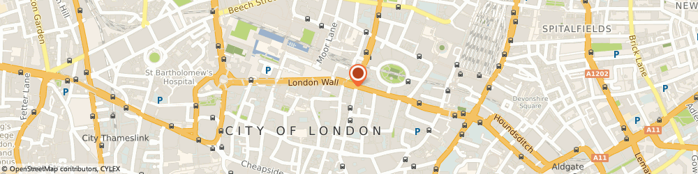 Route/map/directions to TSB Bank, EC2M 5QX London, 34 London Wall