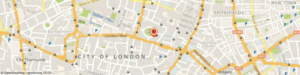 Route/map/directions to Startin Consulting, EC2M 7AB London, 27 Finsbury Circus