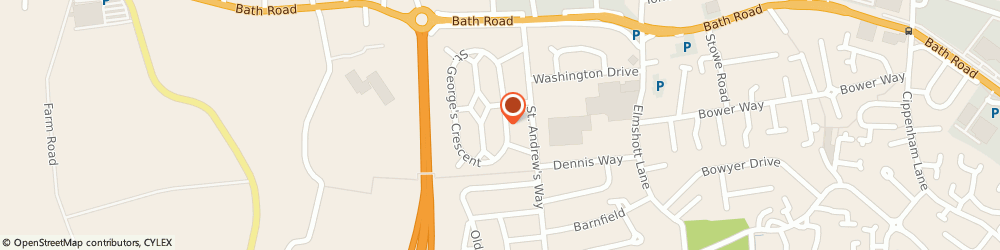 Route/map/directions to Manny The Plumber, SL1 5PQ Slough, 39 Anthony Way