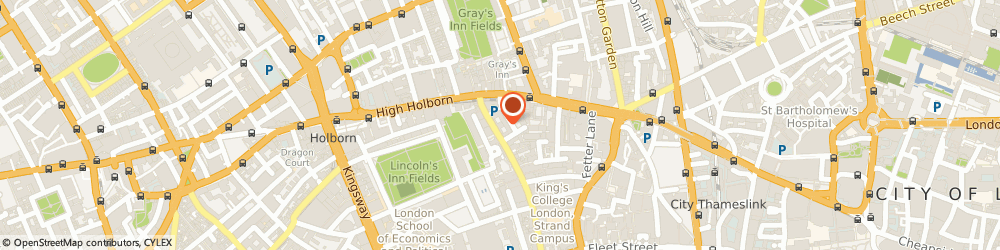 Route/map/directions to Monster.co.uk, WC2A 1QS London, 53-64 Chancery Ln