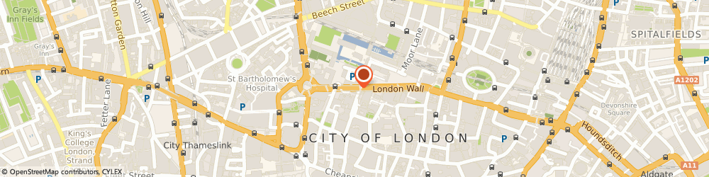 Route/map/directions to The Cja Group Ltd, EC2M 5UX London, 2 London Wall