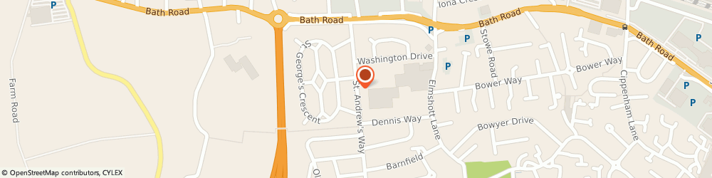 Route/map/directions to Smile, SL1 5NP Slough, 56 ST. ANDREWS WAY