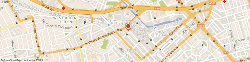 Route/map/directions to Reconsulting Rtc Limited, W2 6LG London, 2 Eastbourne Terrace