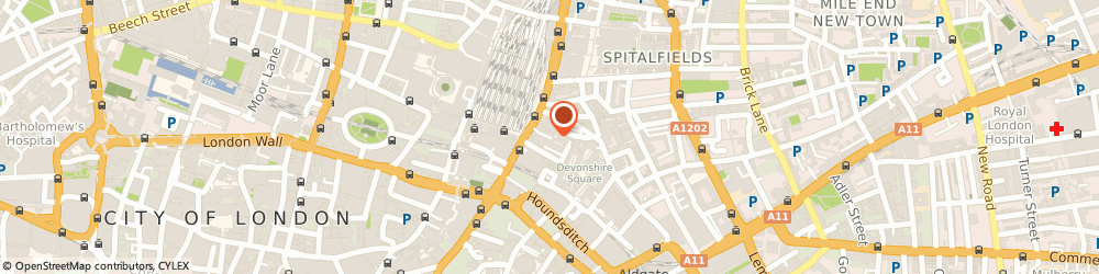 Route/map/directions to Harley Street Counselling and Training, EC2M 4NS London, 2 - 8 Victoria Avenue