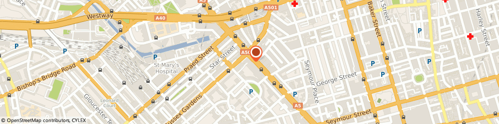 Route/map/directions to Lloyds Bank, W2 2HR London, 167 - 169 Edgware Road