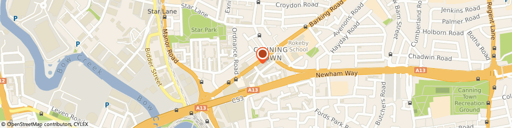 Route/map/directions to Links Event Solutions, E16 4HQ London, 105 Barking Rd