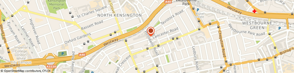 Route/map/directions to One Of a Kind, W11 1LR London, 259 Portobello Rd