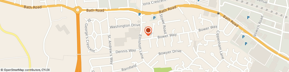 Route/map/directions to Daj Accountancy Ltd, SL1 5HD Slough, 17 CHARLCOT MEWS, BOWER WAY CIPPENHAN