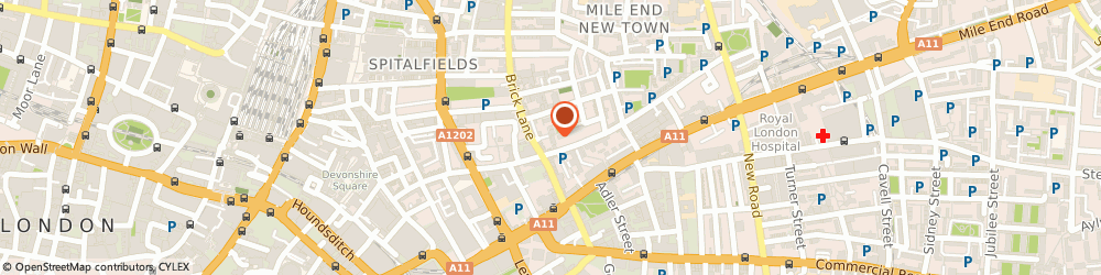 Route/map/directions to Breakaway Publications Limited, E1 5LT London, 46 FROSTIC WALK