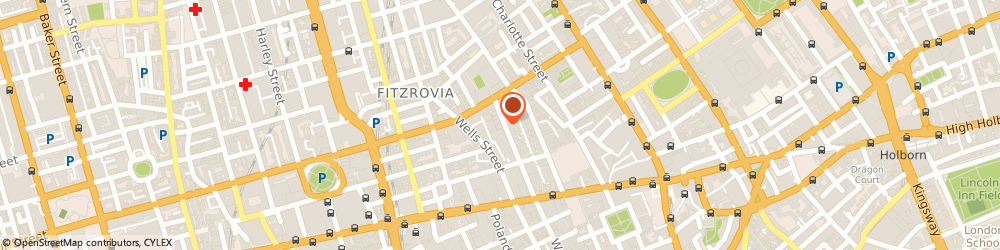 Route/map/directions to Fashion Box, W1T 3NF London, 47-48 Berners St