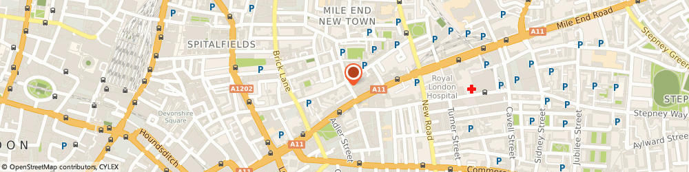 Route/map/directions to The Hat Magazine, E1 5NF London, 7-15 Greatorex St, unit 3