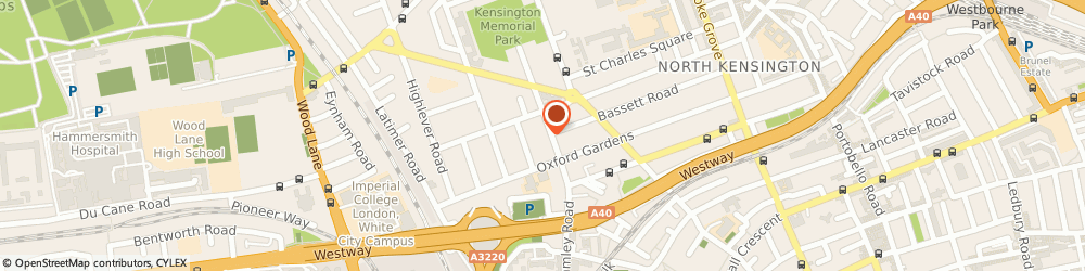 Route/map/directions to Violet & George Ltd, W10 6LN London, 57 St Helens Gardens