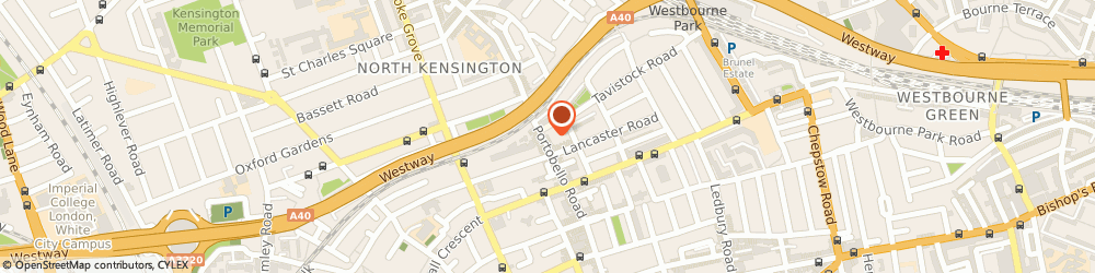 Route/map/directions to R Garcia and Sons, W11 1LL London, 248-250 Portobello Rd