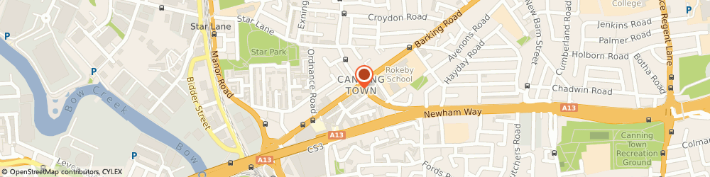 Route/map/directions to Flakys Wears, E16 4HQ London, 163 BARKING ROAD