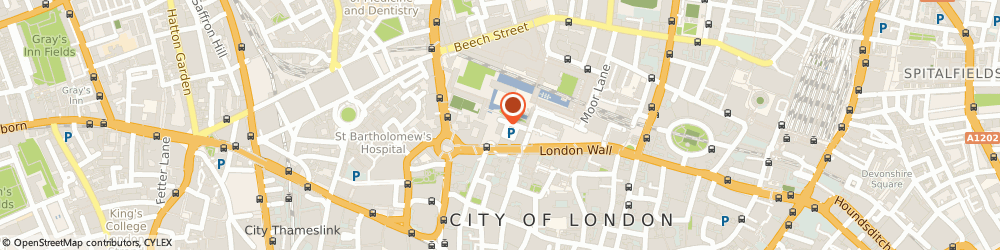 Route/map/directions to The Holmes Wood Consultancy Limited, EC2Y 5BL London, 1 Monkwell Square