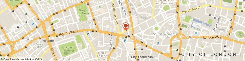 Route/map/directions to Hfm Columbus Partners Llp, EC1N 6RY London, 7 Ely Place