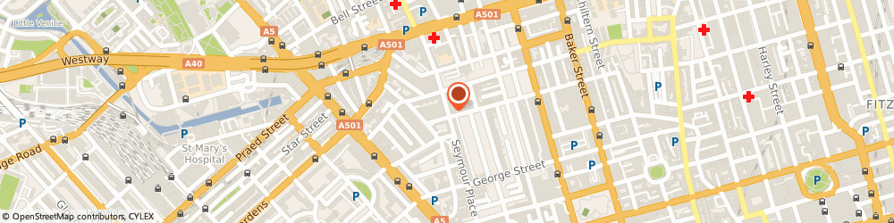 Route/map/directions to Redmount Ltd, W1H 4PF London, 153 Seymour Pl