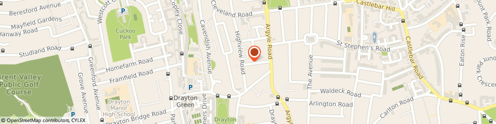 Route/map/directions to Mille Gusti Ltd, W13 0HD London, 17 ROSEBERY GARDENS