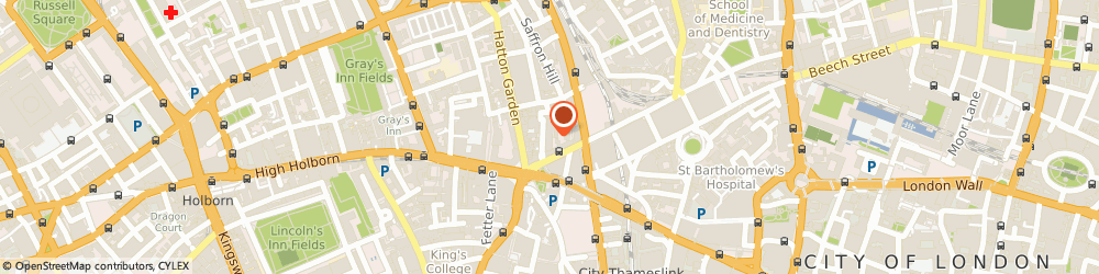 Route/map/directions to R Stone, EC1N 6TD London, 30 ELY PLACE