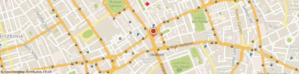 Route/map/directions to Beige Plus Ltd, WC1B 5HJ London, 33 Southampton Row