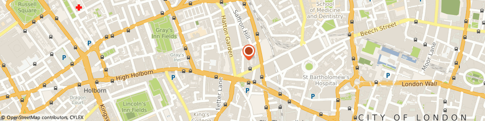 Route/map/directions to I Daniels, EC1N 6TD London, 28 Ely Place