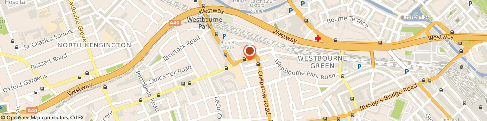 Route/map/directions to Smiths, W2 5QL London, 133 WESTBOURNE PARK ROAD