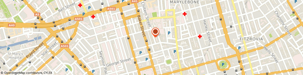 Route/map/directions to Johanna Hehir, W1U 7PX London, 10/12 Chiltern street, Marylebone, West End