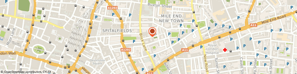 Route/map/directions to Spitalfields Workspace Limited, E1 5LJ London, 9 HENEAGE STREET