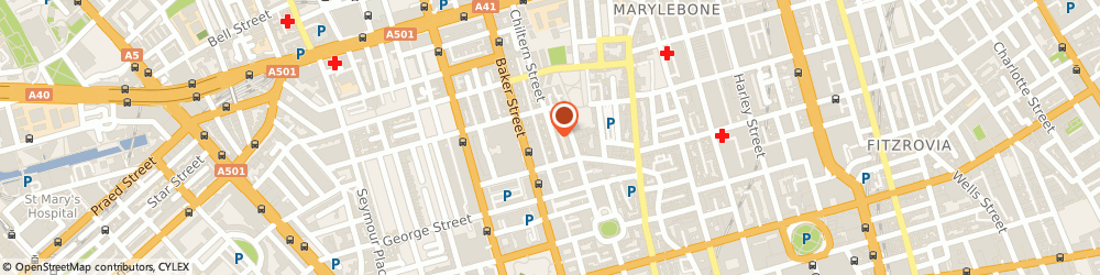 Route/map/directions to Grey Flannel, W1U 7PE London, 7 Chiltern St