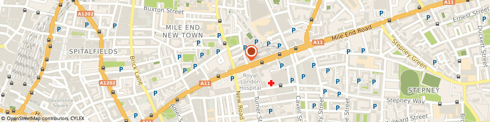 Route/map/directions to Upoher, E1 5AA London, 3-5 Fulbourne St