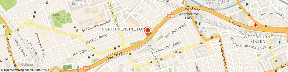 Route/map/directions to L.h Cook, W10 5TD London, 289 Portobello Rd
