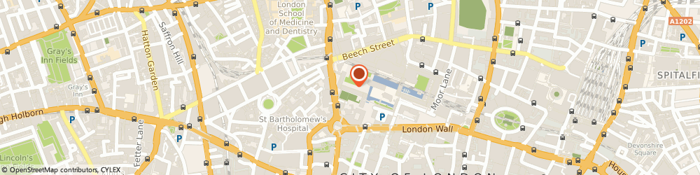 Route/map/directions to C.N. Productions Limited, EC2Y 8BT London, 70 THOMAS MORE HOUSE BARBICAN