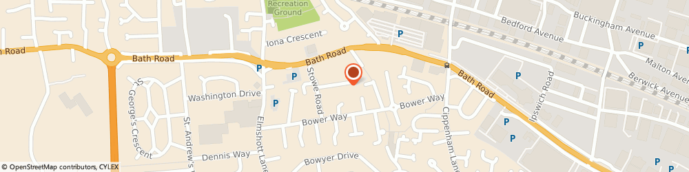 Route/map/directions to Research & Medical Services Limited, SL1 5QJ Slough, 12 MASONS ROAD