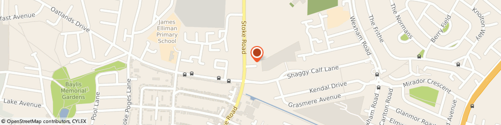 Route/map/directions to Aspens Catering at Lynch Hill Enterprise Academy, SL2 5AY Slough, Stoke Road