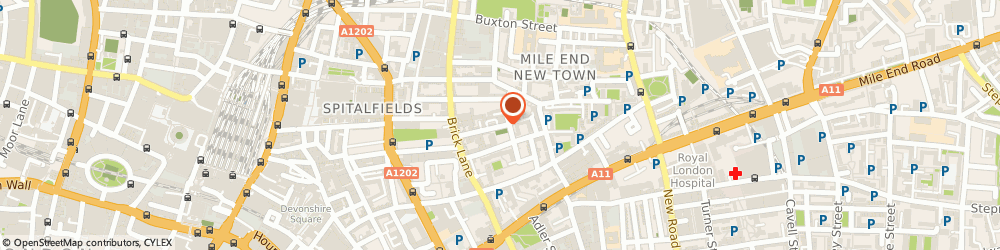 Route/map/directions to Neville Bruton Design Limited, E1 5LJ London, 47 Heneage St