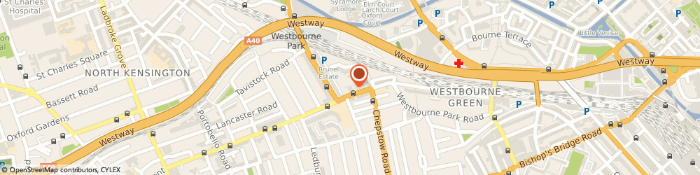 Route/map/directions to UPS Solutions Logistics, W2 5UH London, 1-2 Keyham House, Westbourne Park Road