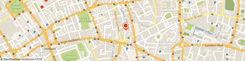 Route/map/directions to Hatton Grange Ltd, EC1N 6SN London, 4Th Floor, Audrey House, 16-20 Ely Place