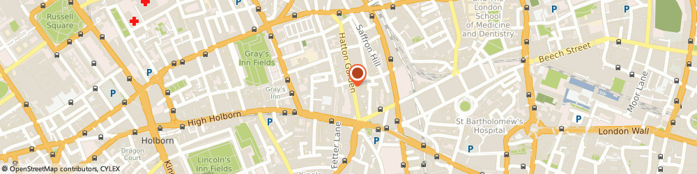 Route/map/directions to Mia Sposa London Central, EC1N 8NX London, 95 Hatton Garden