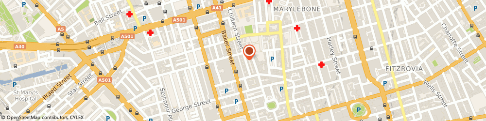 Route/map/directions to Long Tall Sally, W1U 7PH London, 19-25 Chiltern Street