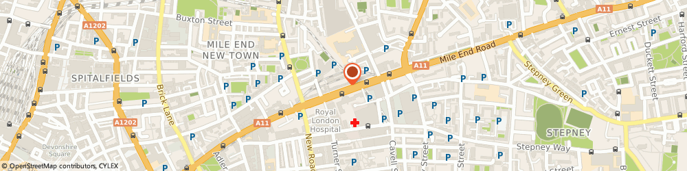 Route/map/directions to JD Sports, E1 1DB London, 261-263 Whitechapel Road