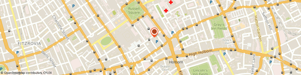 Route/map/directions to Storage Bloomsbury Ltd., WC1A 2NS London, 21 Bloomsbury Square,