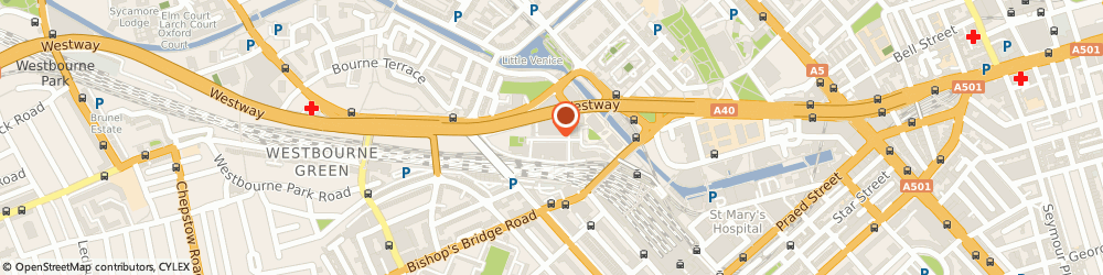 Route/map/directions to Storage Maida Vale, W2 6BD London, 2 Kingdom St