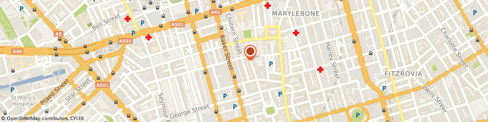 Route/map/directions to Prism London, W1U 7QX London, 54 Chiltern St