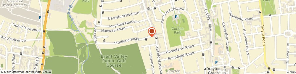 Route/map/directions to Hanwell Locksmiths, W7 3QX London, 4-6 STUDLAND ROAD