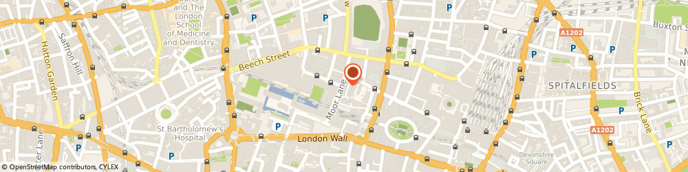 Route/map/directions to Goodlookevents, EC2Y 9HT London, City Point Building, 9th Floor, 1 Ropemaker Street