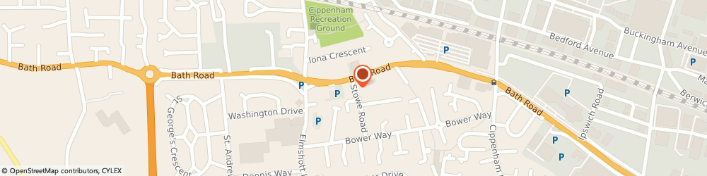 Route/map/directions to Accountancy & Tax Services, SL1 5QF Slough, 4, STOWE ROAD